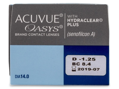 Acuvue Oasys (24lente) - Attributes preview