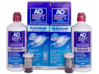 AO SEPT PLUS HydraGlyde Solucion 2 x 360ml  - Economy duo pack - solution