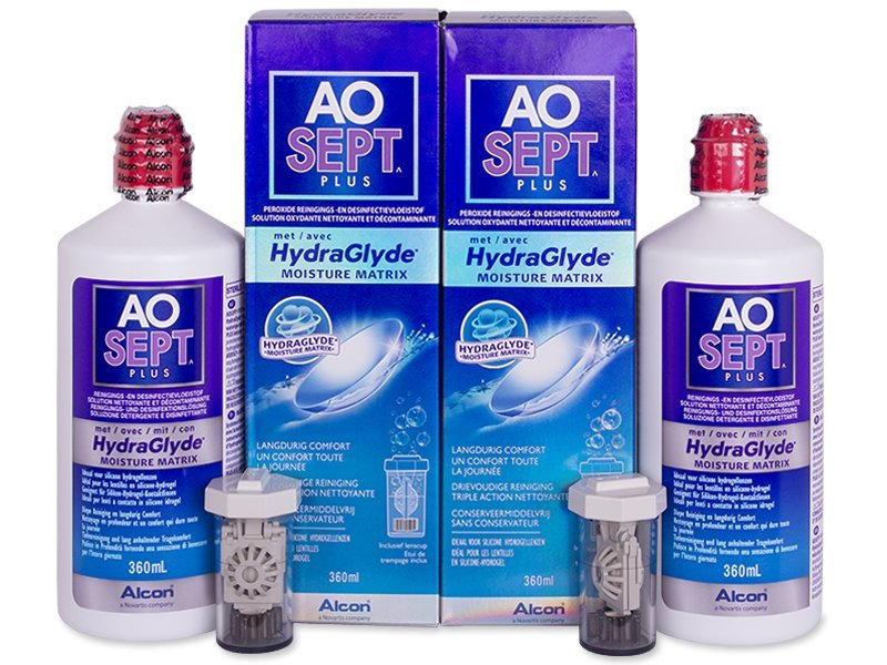 Economy duo pack - solution - AO SEPT PLUS HydraGlyde Solucion 2 x 360ml