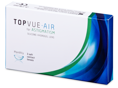 TopVue Air for  Astigmatism (3 lente) - Toric contact lenses