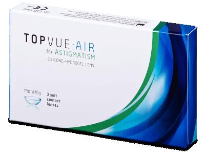 TopVue Air for  Astigmatism (3 lente)