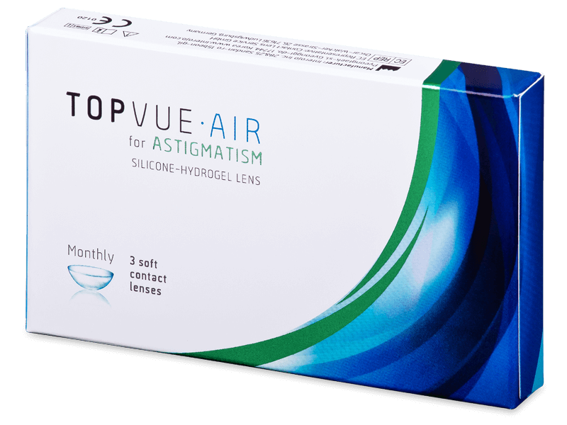 TopVue Air for  Astigmatism (3 lente) - Toric contact lenses