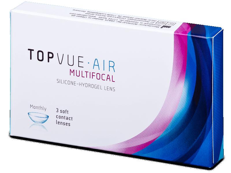 TopVue Air Multifocal (3 lente) - Multifocal contact lenses