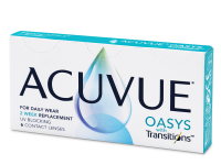 Acuvue Oasys with Transitions (6 lenses) - Bi-weekly contact lenses