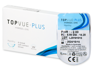 TopVue Plus (1 lente) - Monthly contact lenses