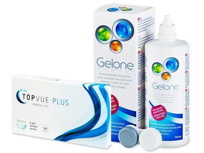 TopVue Plus (6 lente) + Solucion Gelone 360 ml - Previous design