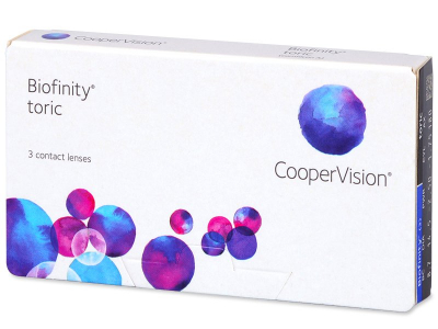 Biofinity Toric (3lente) - Toric contact lenses