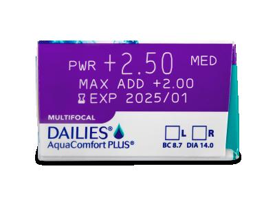 Dailies AquaComfort Plus Multifocal (90lente) - Attributes preview