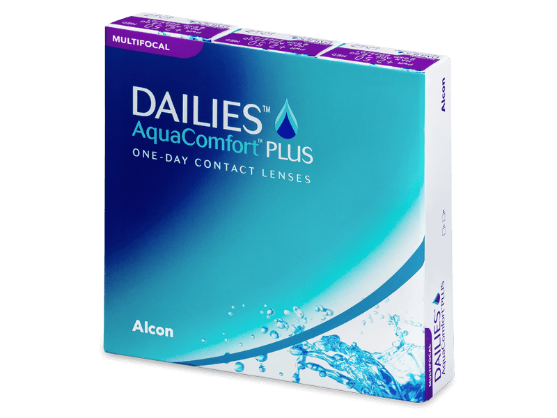 Dailies AquaComfort Plus Multifocal (90lente) - Multifocal contact lenses