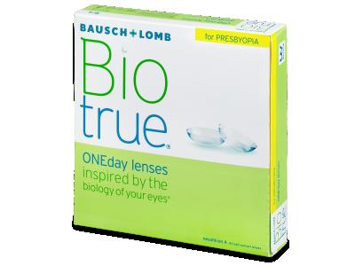 Biotrue ONEday për Presbyopia (90 Lente) - Lente Ditore