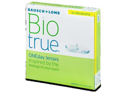 Biotrue ONEday për Presbyopia (90 Lente)