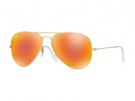 images alt - Syze Dielli Ray-Ban Original Aviator RB3025 - 112/69