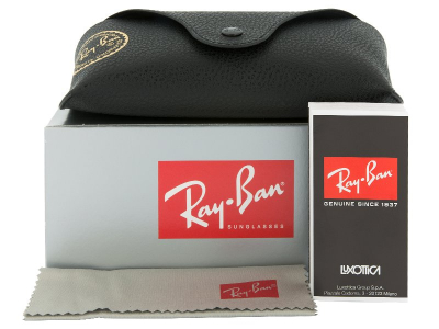 Syze Dielli Ray-Ban RB4181 - 601/71  - Preview pack (illustration photo)