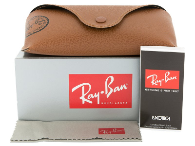 Syze Dielli Ray-Ban Justin RB4165 - 865/T5 POL  - Preview pack (illustration photo)