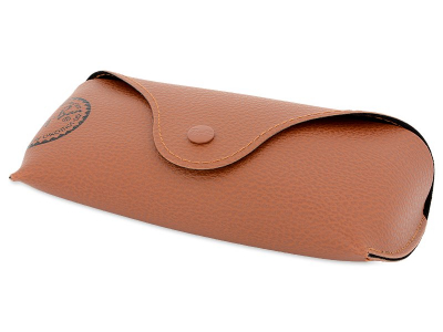 Syze Dielli Ray-Ban Justin RB4165 - 865/T5 POL  - Original leather case (illustration photo)