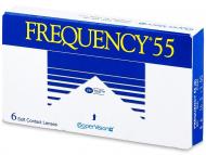 Lente kontakti Mujore - Frequency 55 (6lente)