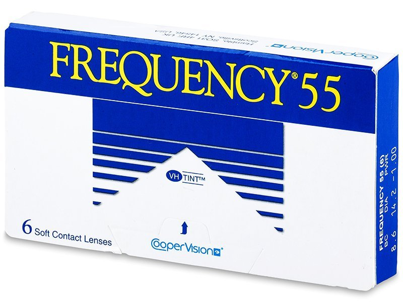 Frequency 55 (6 lente) - Monthly contact lenses