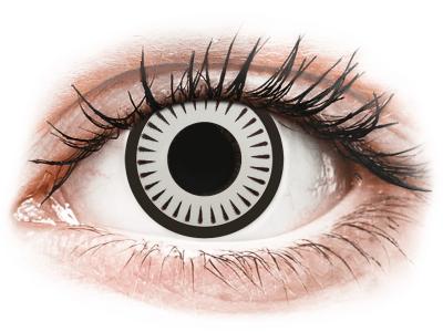 CRAZY LENS - Byakugan - Lente optike ditore (2 lente)