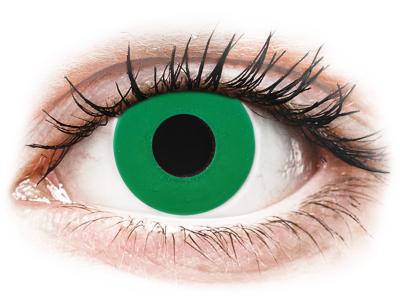 CRAZY LENS - Emerald Green - Lente kozmetike ditore (2 lente)
