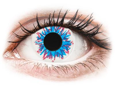 CRAZY LENS - Harlequin - Lente kozmetike ditore (2 lente)