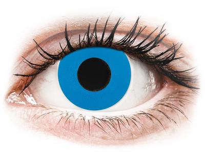 CRAZY LENS - Sky Blue - Lente kozmetike ditore (2 lente)