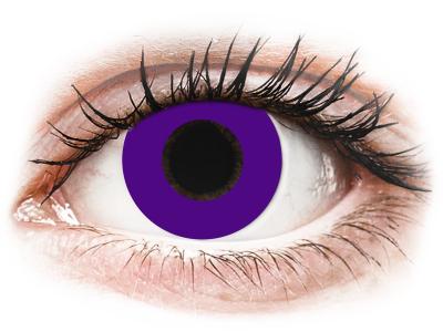 CRAZY LENS - Solid Violet - Lente kozmetike ditore (2 lente)
