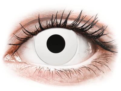 CRAZY LENS - WhiteOut - Lente optike ditore (2 lente)