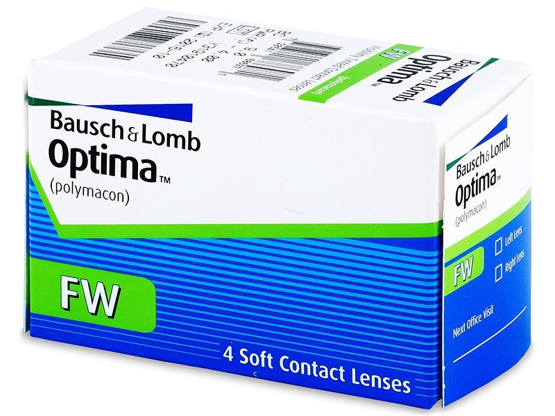 Quarterly OptimaFW (4lente) - Monthly contact lenses