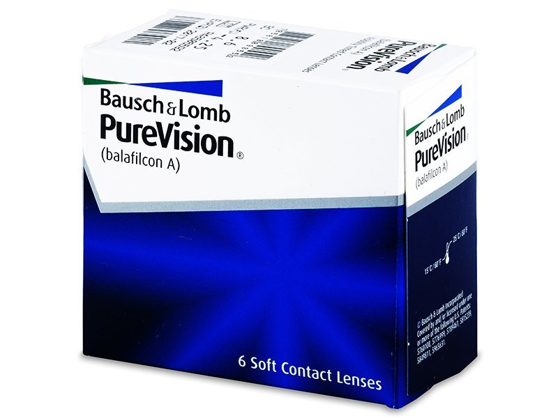 PureVision (6 lente) - Monthly contact lenses