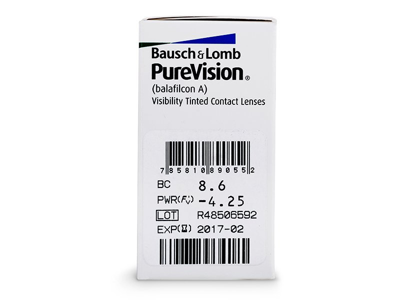 PureVision (6 lente) - Attributes preview