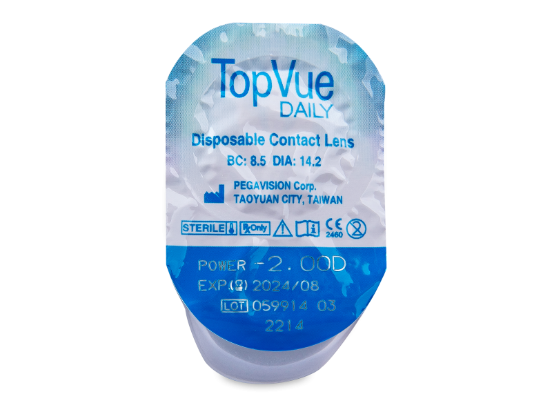 TopVue Daily (90lente) - Blister pack preview