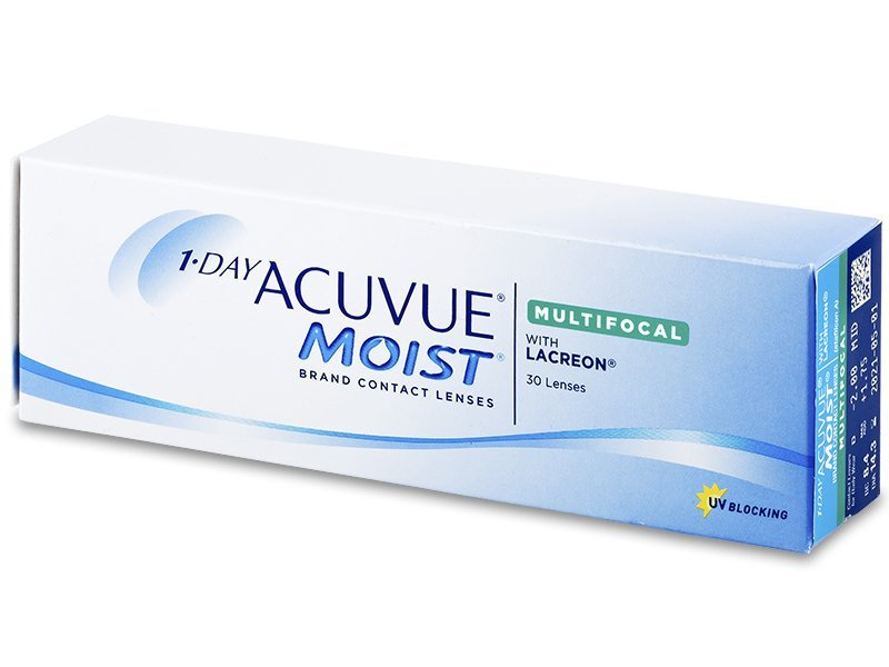 1 Day Acuvue Moist Multifocal (30 lenses) - Toric contact lenses
