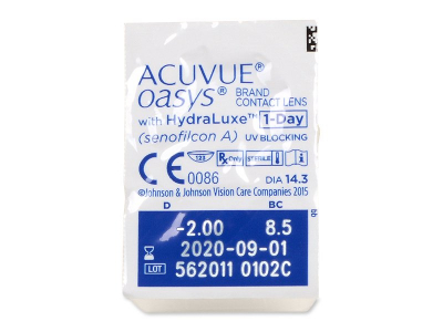 Acuvue Oasys 1-Day (90 lenses) - Blister pack preview