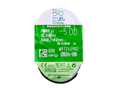 Biotrue ONEday (90lente) - Blister pack preview