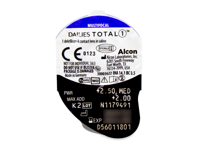 Dailies TOTAL1 Multifocal (30 lenses) - Blister pack preview