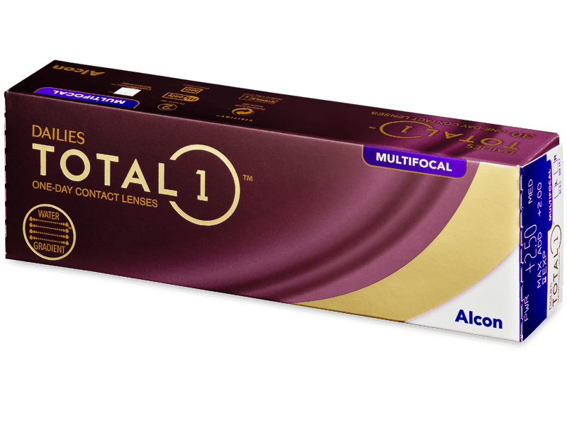 Dailies TOTAL1 Multifocal (30 lenses) - Multifocal contact lenses