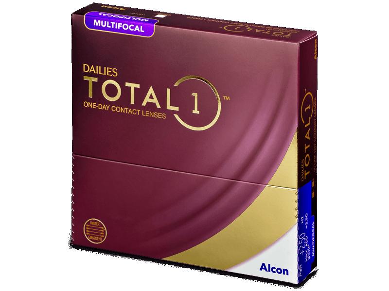 Dailies TOTAL1 Multifocal (90 lenses) - Multifocal contact lenses