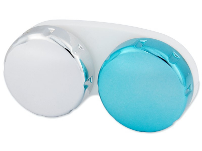Kuti për lente me pasqyrim – blu/gri