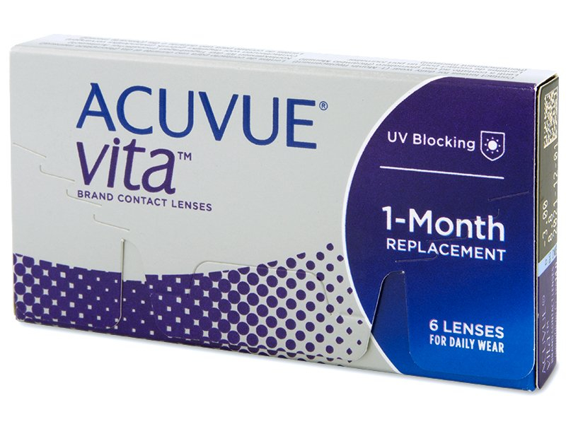 Acuvue Vita (6 lente) - Monthly contact lenses