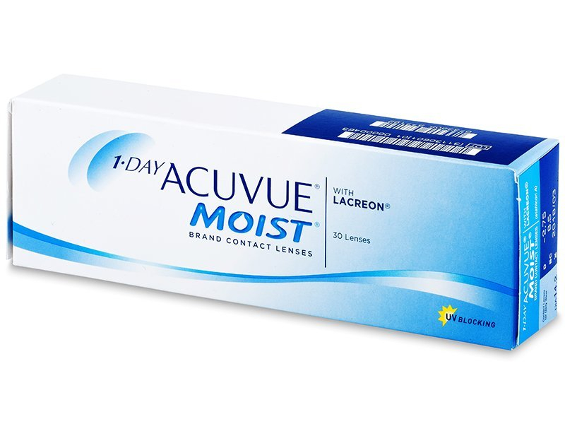 Daily contact lenses - 1 Day Acuvue Moist (30 lente)