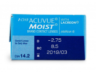 1 Day Acuvue Moist (30lente) - Attributes preview