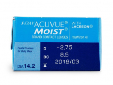 1 Day Acuvue Moist (30 lente) - Attributes preview