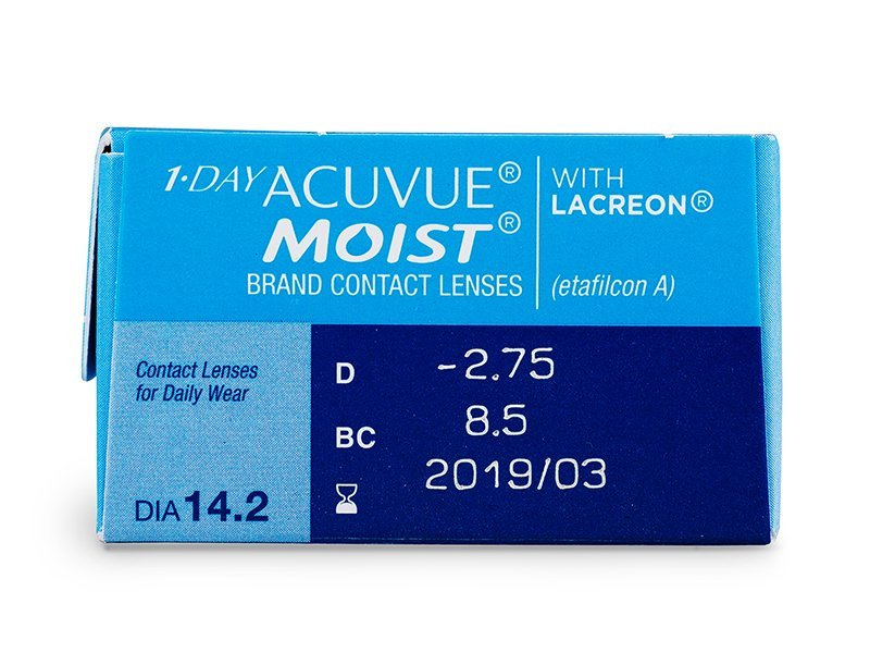 Attributes preview - 1 Day Acuvue Moist (30 lente)