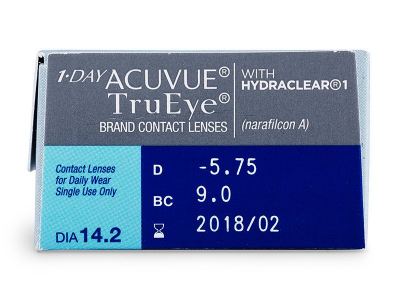 1 Day Acuvue TruEye (30lente) - Attributes preview