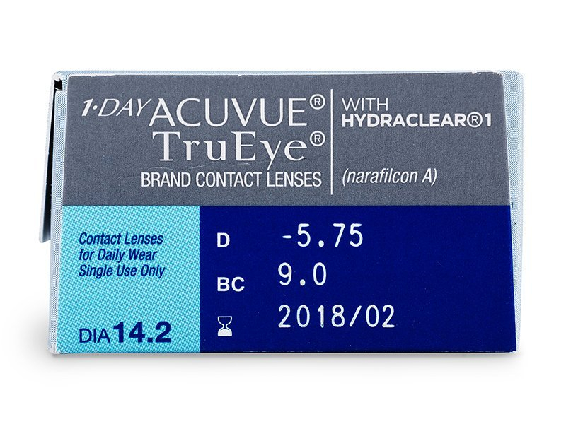 1 Day Acuvue TruEye (30 lente) - Attributes preview