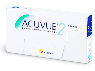 Acuvue 2 (6 lente) - Bi-weekly contact lenses