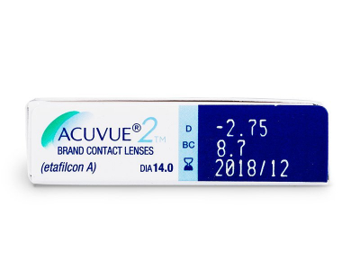 Acuvue 2 (6 lente) - Attributes preview