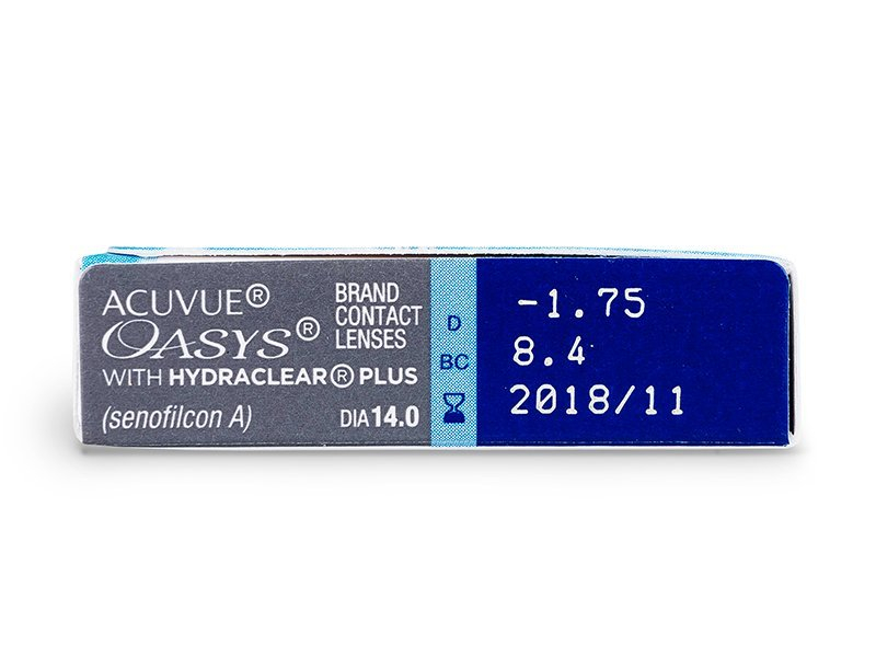 Acuvue Oasys (6 lente) - Attributes preview