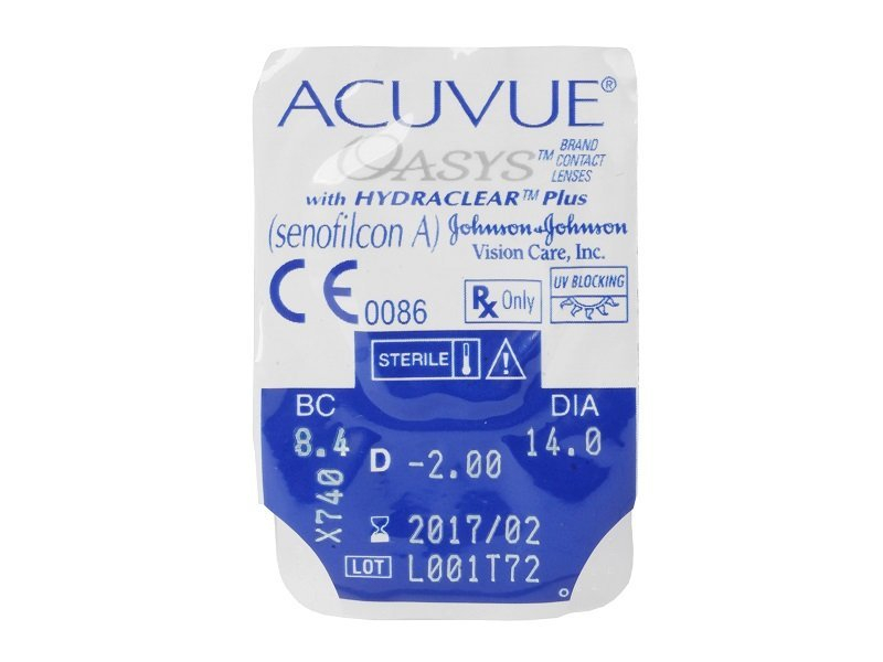 Acuvue Oasys (6 lente) - Blister pack preview