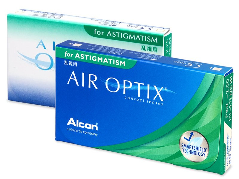 Toric contact lenses - Air Optix for Astigmatism (3 lente)
